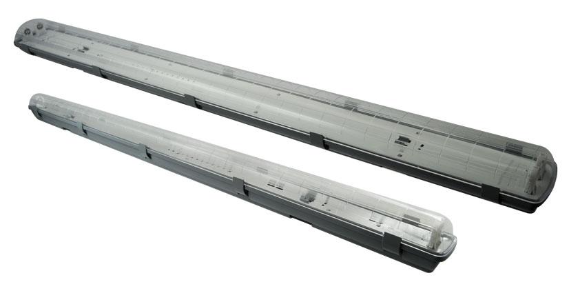 Prachotìsné svítidlo IP65 DUST LED PS 1xT8/150cm, Greenlux GXWP208