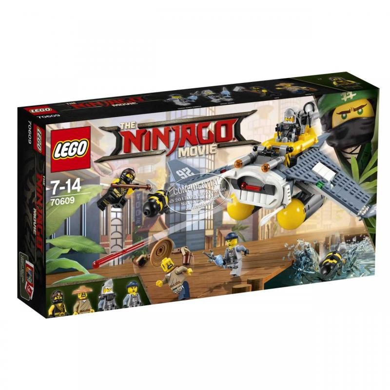 Bombardér Manta Ray LEGO Ninjago 2270609
